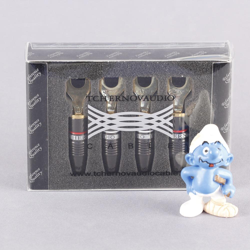 Разъем Лопатка Tchernov Cable Spade Lug Reference G (4 штуки)