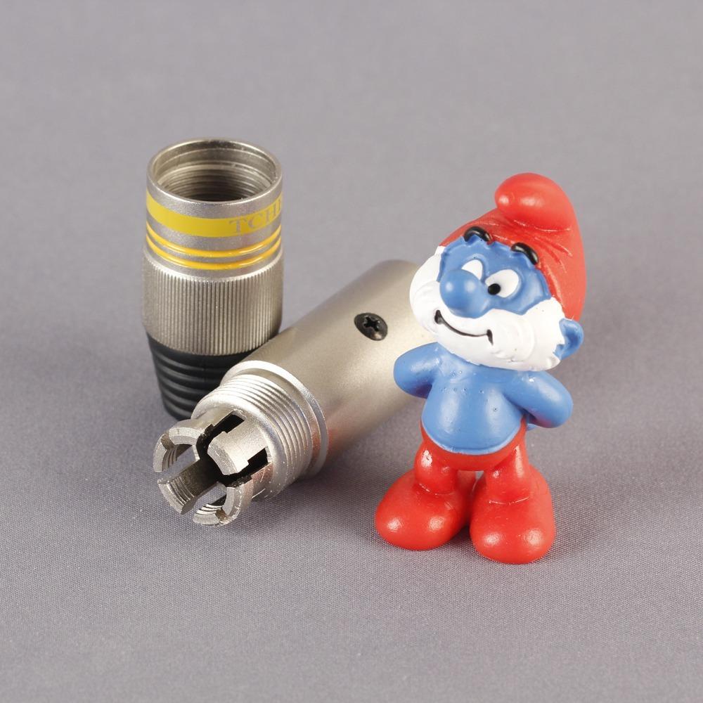 Разъем XLR (Комплект) Tchernov Cable XLR Plug Classic G Yellow (2 штуки)