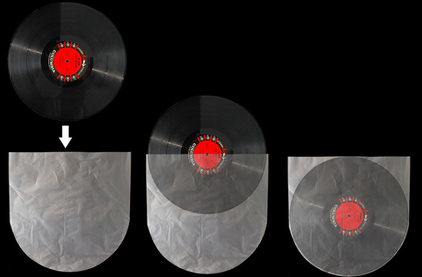 Конверты для виниловых пластинок Vertigo LP Record Plastic Inner Sleeves