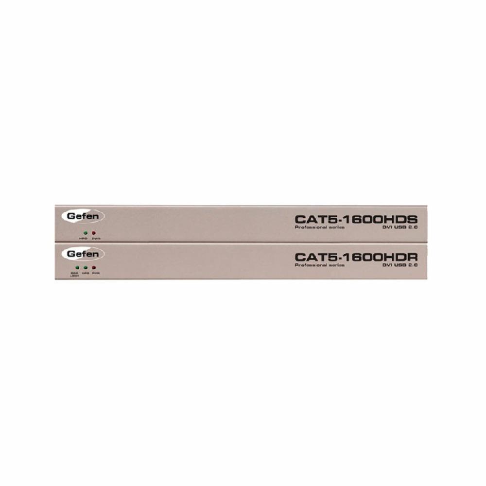 Передача по витой паре KVM (DVI, USB, PS/2, RS-232 и аудио) Gefen EXT-CAT5-1600HD