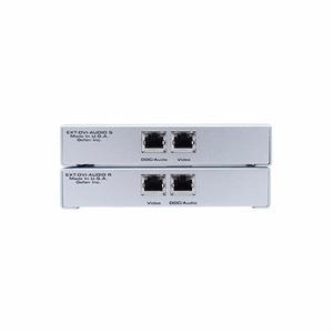 Передача по витой паре DVI Gefen EXT-DVI-AUDIO-CAT5