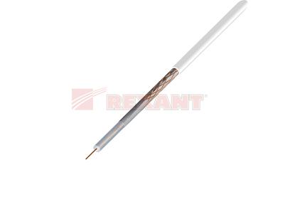 Кабель антенный в нарезку Rexant 01-2001 RG-58A/U (50 Ом) белый (1 метр)