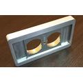 Аксессуар для розетки Audio Replas CPP-2SZ/S (15mm)
