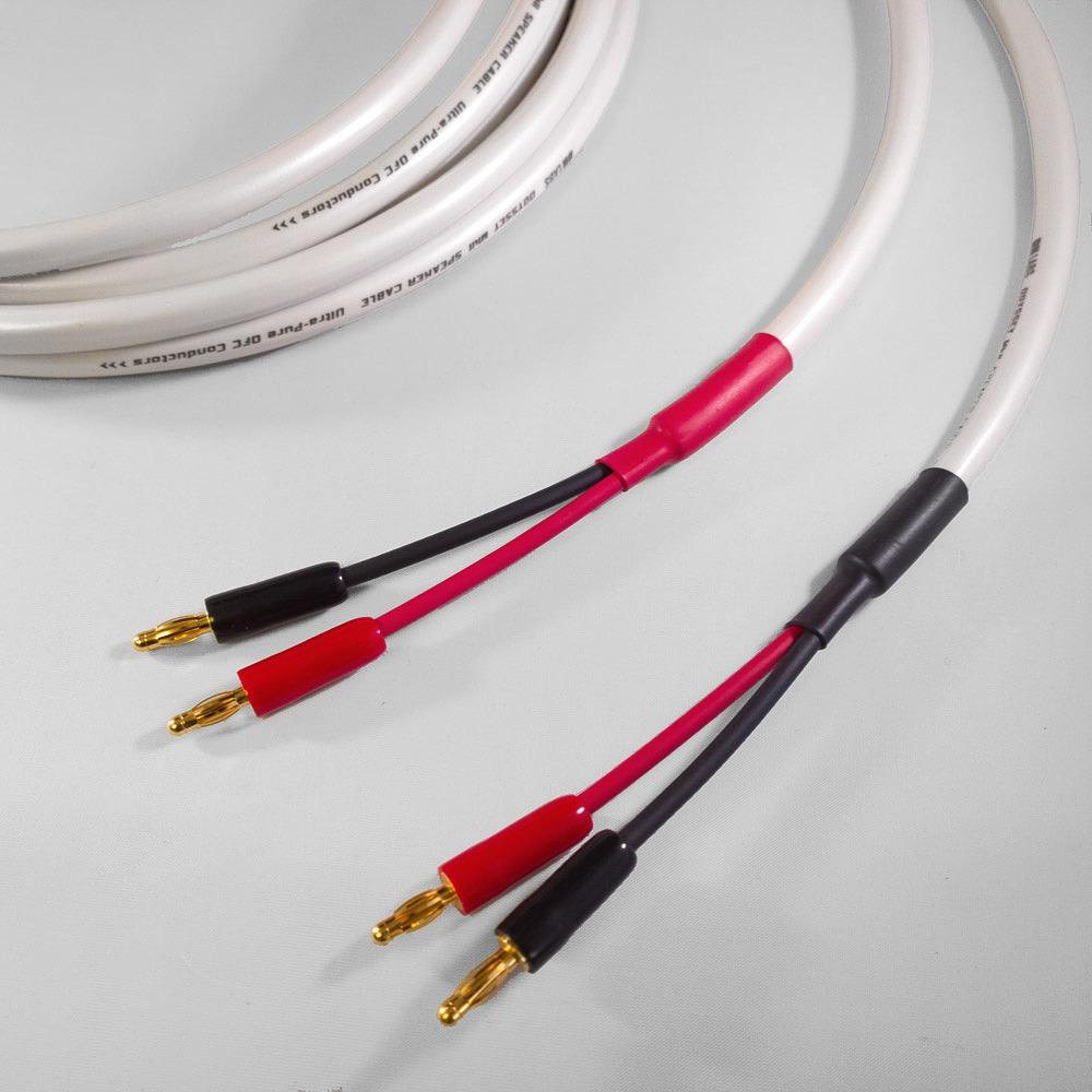Акустический кабель Single-Wire Banana - Banana DH Labs Odyssey mkII Banana B-1C Plug Gold Single Wire 2.5m