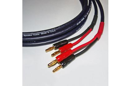 Акустический кабель Single-Wire Banana - Banana DH Labs T-14 Banana B-1C Plug Gold Single Wire 2.5m
