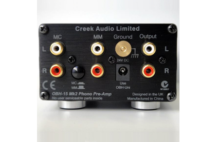 Фонокорректор MM/MC Creek OBH-15mk2 Black