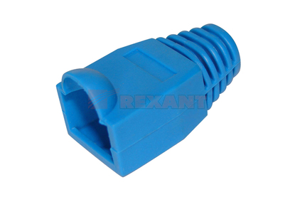 Аксессуар для разъема Rexant 05-1209 RJ-45 синий (1 штука)