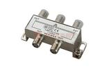 Антенный разветвитель Rexant 05-6003 ДЕЛИТЕЛЬ ТВ Краб х 4 под F разъём 5-1000 МГц (1 штука)