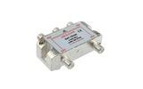 Усилитель-распределитель ВЧ сигналов Rexant 05-6203 ДЕЛИТЕЛЬ ТВ Краб х 4 под F разъём 5-2500 МГц СПУТНИК (1 штука)