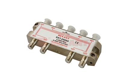 Антенный разветвитель Rexant 05-6205 ДЕЛИТЕЛЬ ТВ Краб х 8 под F разъём 5-2500 МГц СПУТНИК (1 штука)