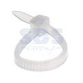 Хомут нейлоновый (кабельная стяжка) Rexant 07-0060 белый 2.5 х 60мм (100 штук)