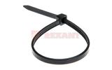 Хомут нейлоновый (кабельная стяжка) Rexant 07-0401-8 черный 8.0 х 400мм (100 штук)