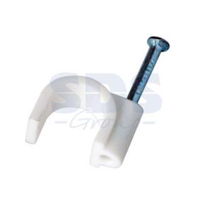 Крепеж кабеля Rexant 07-4010 Крепеж кабеля круглый 10мм (50 штук)