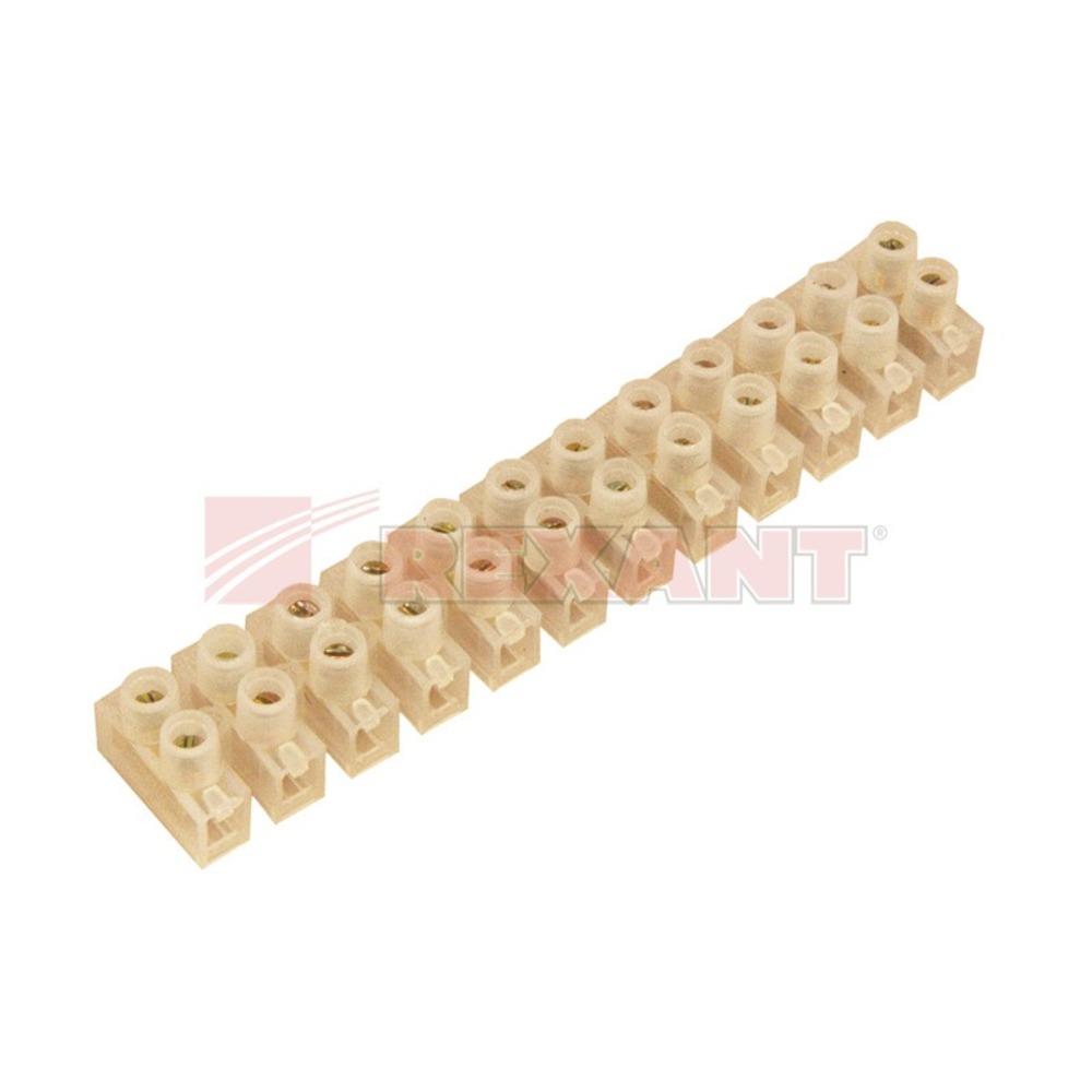 Соединитель кабеля Rexant 07-5010 Колодка клеммная (1 штука)