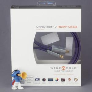 Кабель HDMI - HDMI WireWorld Ultraviolet 7 HDMI-HDMI 3.0m