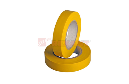 Изолента Rexant 09-2602 Изолента 15мм х 20м желтая
