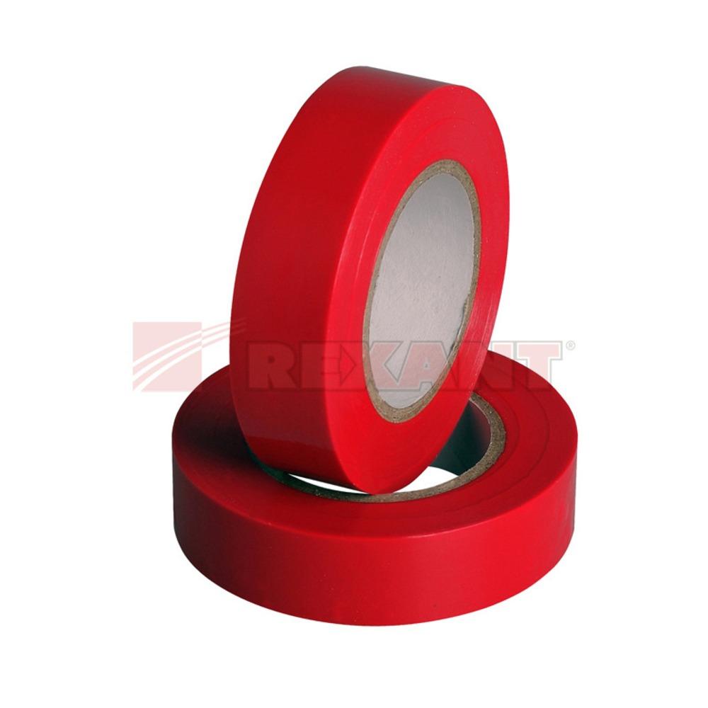 Изолента Rexant 09-2604 Изолента 15мм х 20м красная