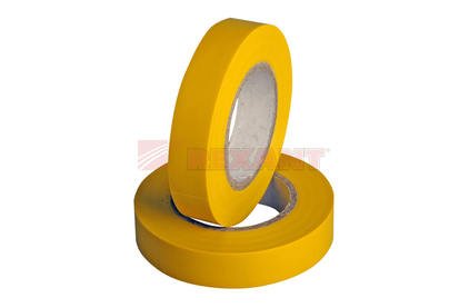 Изолента Rexant 09-2102 Изолента 15мм х 25м желтая (1 штука)