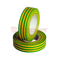 Изолента Rexant 09-2207 Изолента 19мм х 25м желто-зеленая (1 штука)