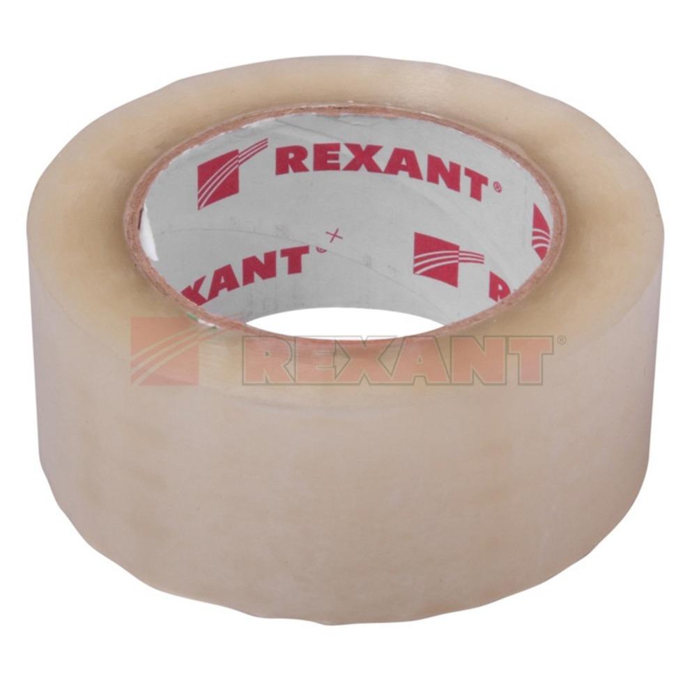Скотч упаковочный Rexant 09-4202 Скотч упаковочный прозрачный (1 штука)