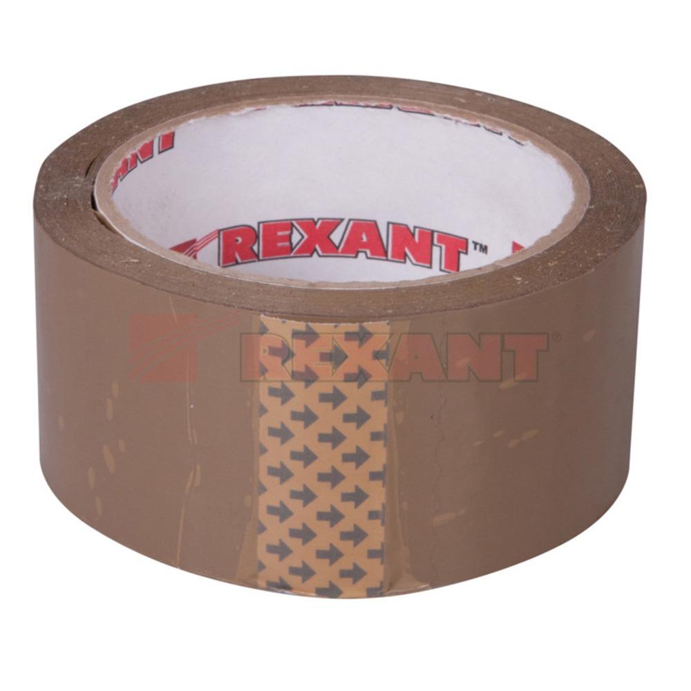 Скотч упаковочный Rexant 09-4212 Скотч упаковочный коричневый (1 штука)