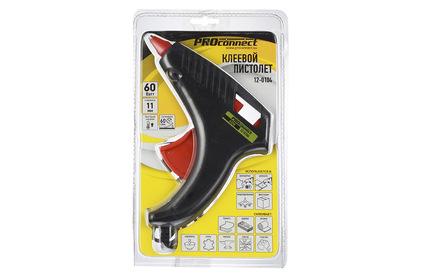 Клеевой пистолет PROconnect 12-0104 60 Вт (1 штука)