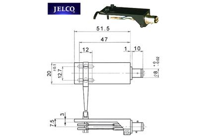 Шелл для винила Jelco HS-20