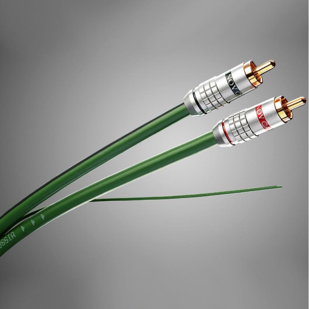 Кабель аудио 2xRCA - 2xRCA Tchernov Cable Standard 1 IC RCA In kit (без упаковки) 0.62m