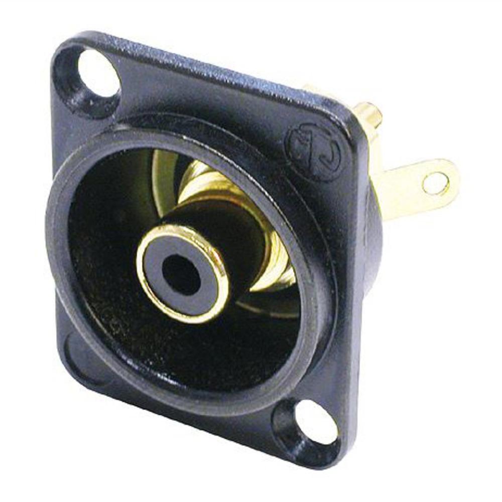 Терминал RCA Neutrik NF2D-B-0 Black