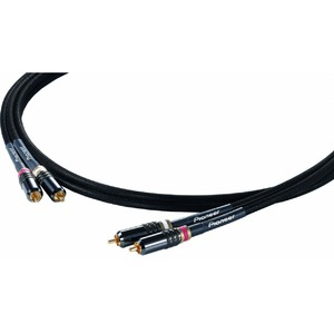 Кабель аудио 2xRCA - 2xRCA Pioneer DAS-RCA020R 2.0m