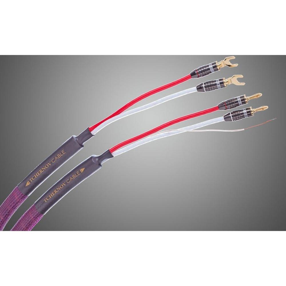 Акустический кабель Single-Wire Spade - Banana Tchernov Cable Classic XS SC Sp/Bn 3.1m