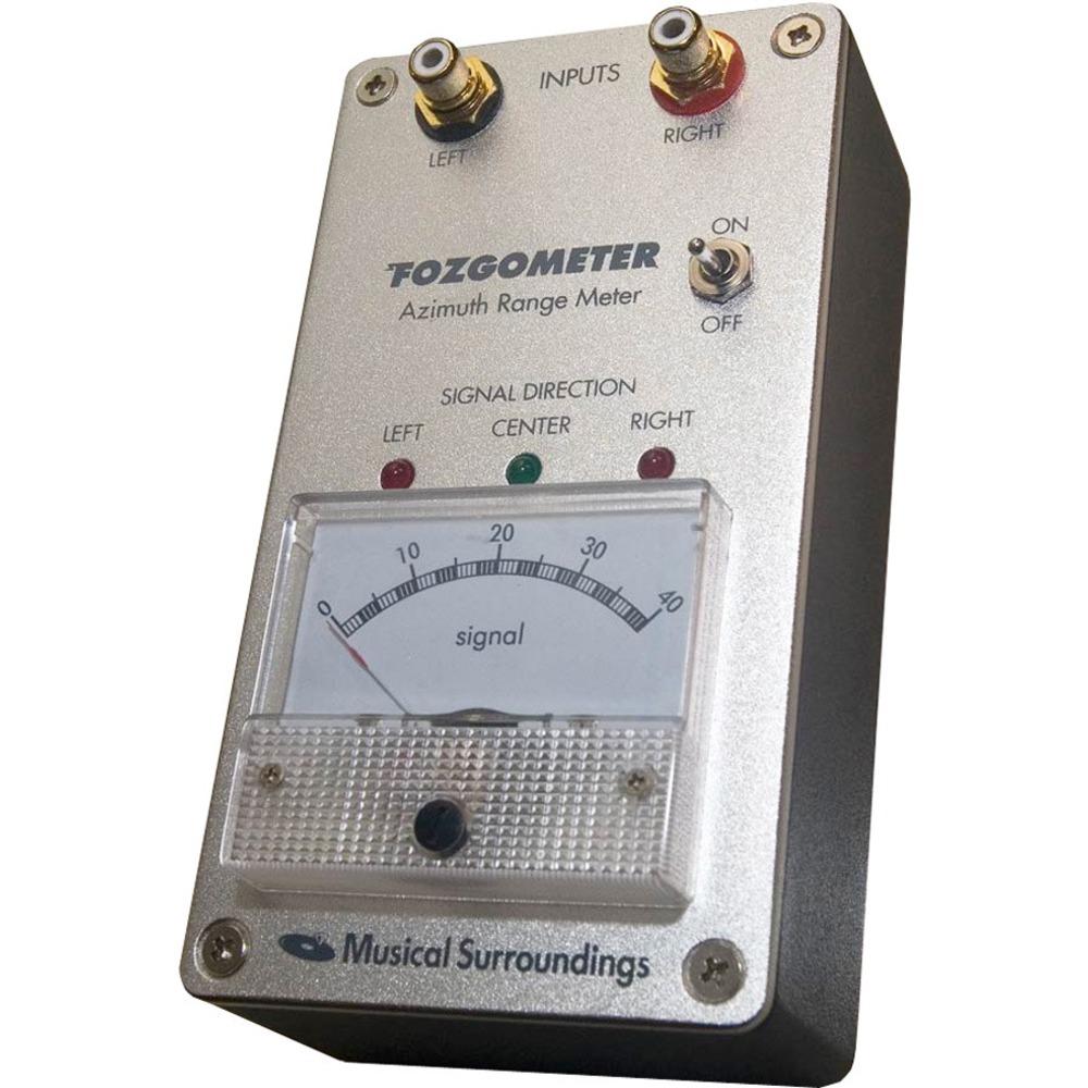 Инструмент для настройки проигрывателя Musical Surroundings Fozgometer