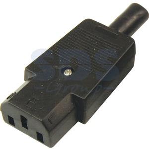 Разъем IEC C15 Rexant 11-0004 Коннектор силовой (1 штука)