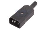 Разъем IEC C14 Rexant 11-0003 Коннектор силовой (1 штука)
