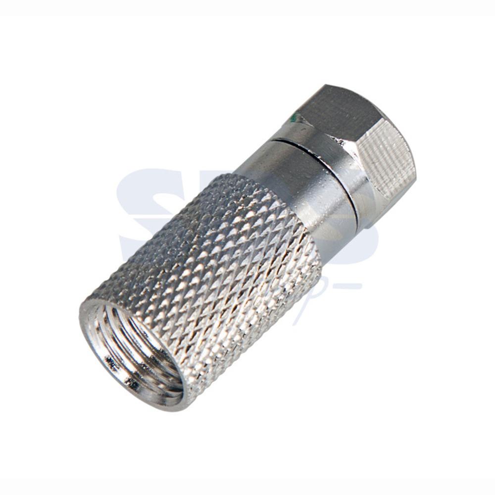 Разъем антенный F-типа PROconnect 05-4007-4 F-разъём RG-11 (с пином) (1 штука)