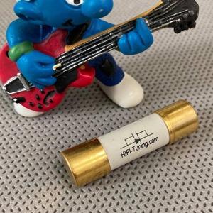 Предохранитель FAST 38mm HiFi-TUNiNG Gold Fuses F 32 A (10 x 38 mm)