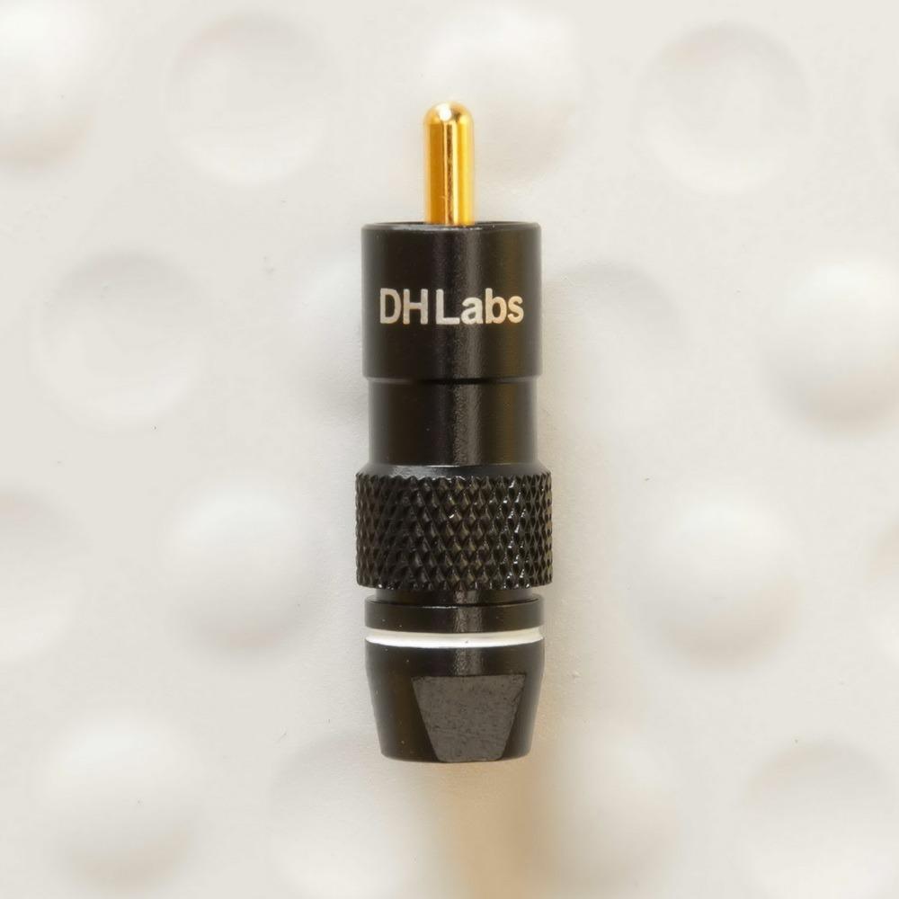 Разъем RCA (Папа) DH Labs RCA-750 Gold
