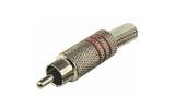Разъем RCA (Папа) Rexant 14-0410 Штекер RCA металл, под винт (1 штука)