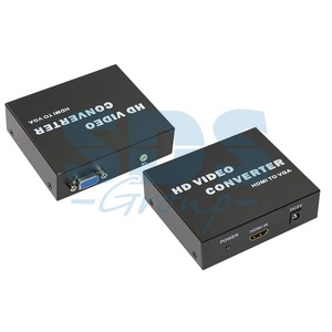 Преобразователь HDMI, аналоговое видео и аудио Rexant 17-6908 Конвертер HDMI на VGA + 3.5 mm Аудио (1 штука)