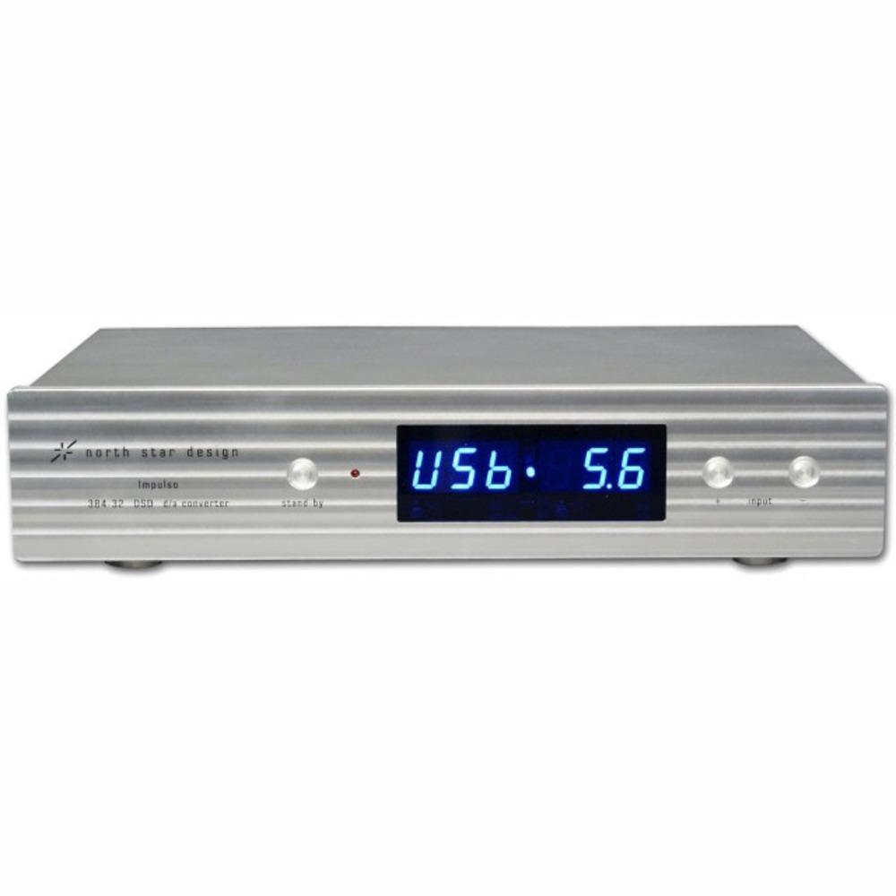 ЦАП транзисторный North Star Design Impulso 384/32 DSD DAC Classic Silver