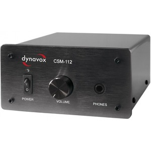 Усилитель для наушников DYNAVOX CSM-112 Black (204247)