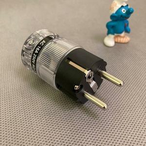 Разъем EU Schuko DYNAVOX Euro Plug RG-01 Nickel (206142)