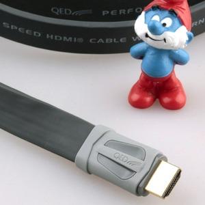 Кабель HDMI - HDMI QED (QE7500) Performance e-Flex HDMI Graphite 1.0m