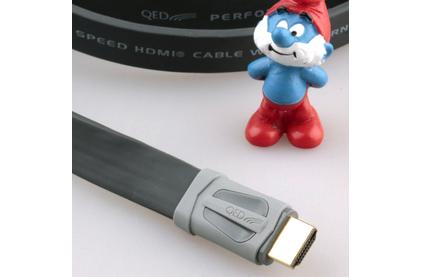 Кабель HDMI - HDMI QED (QE7502) Performance e-Flex HDMI Graphite 2.0m
