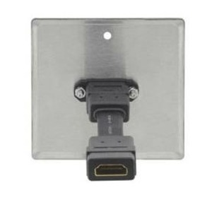 Розетка HDMI Kramer WP-H1M/EU/GB(W)