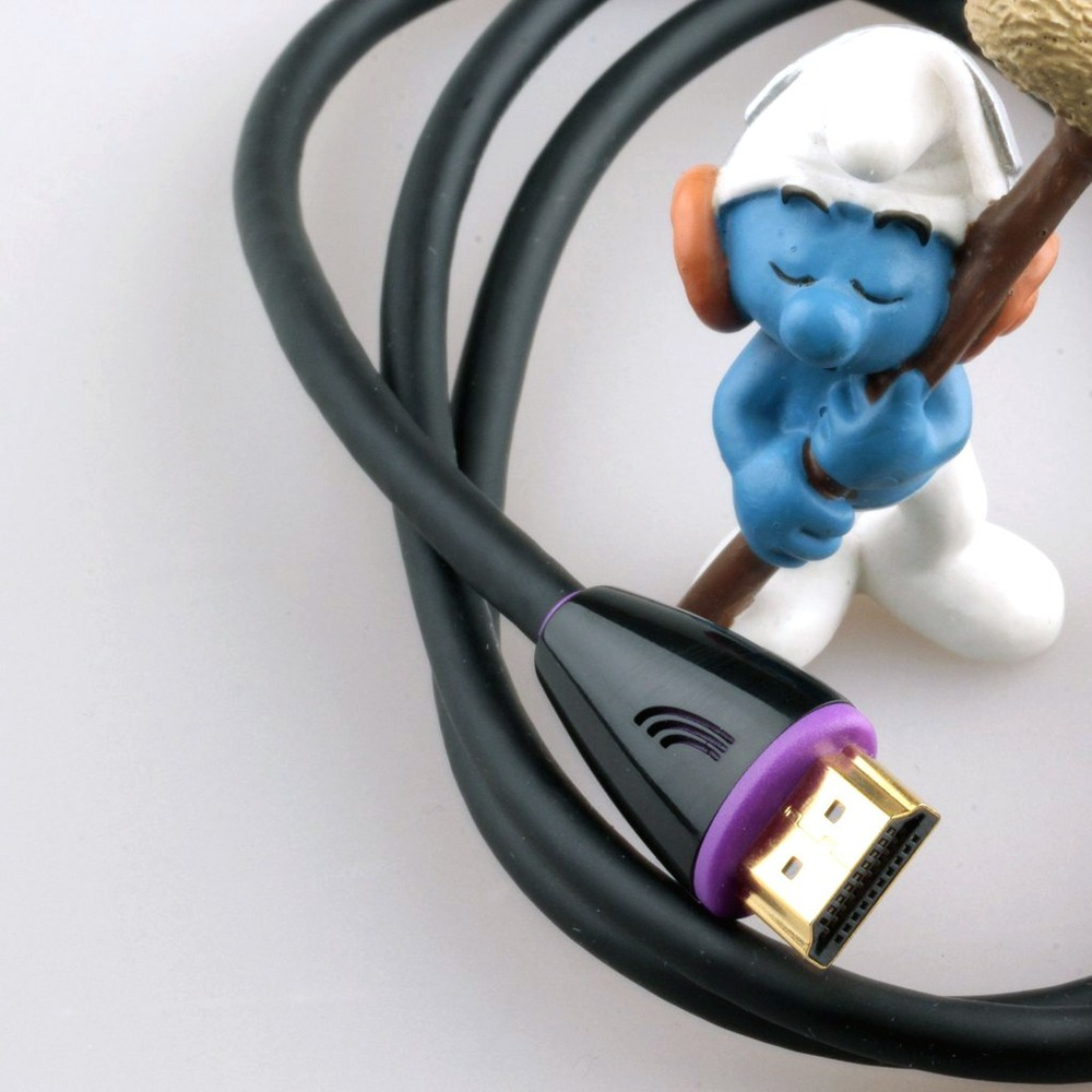 Кабель HDMI - HDMI QED (QE5015) Profile eFlex HDMI Black 2.0m