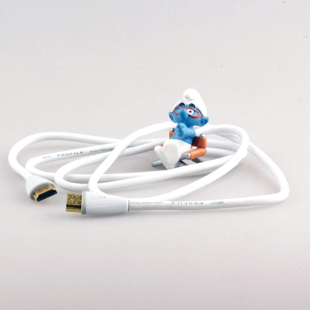 Кабель HDMI - HDMI QED (QE5014) Profile eFlex HDMI White 1.5m