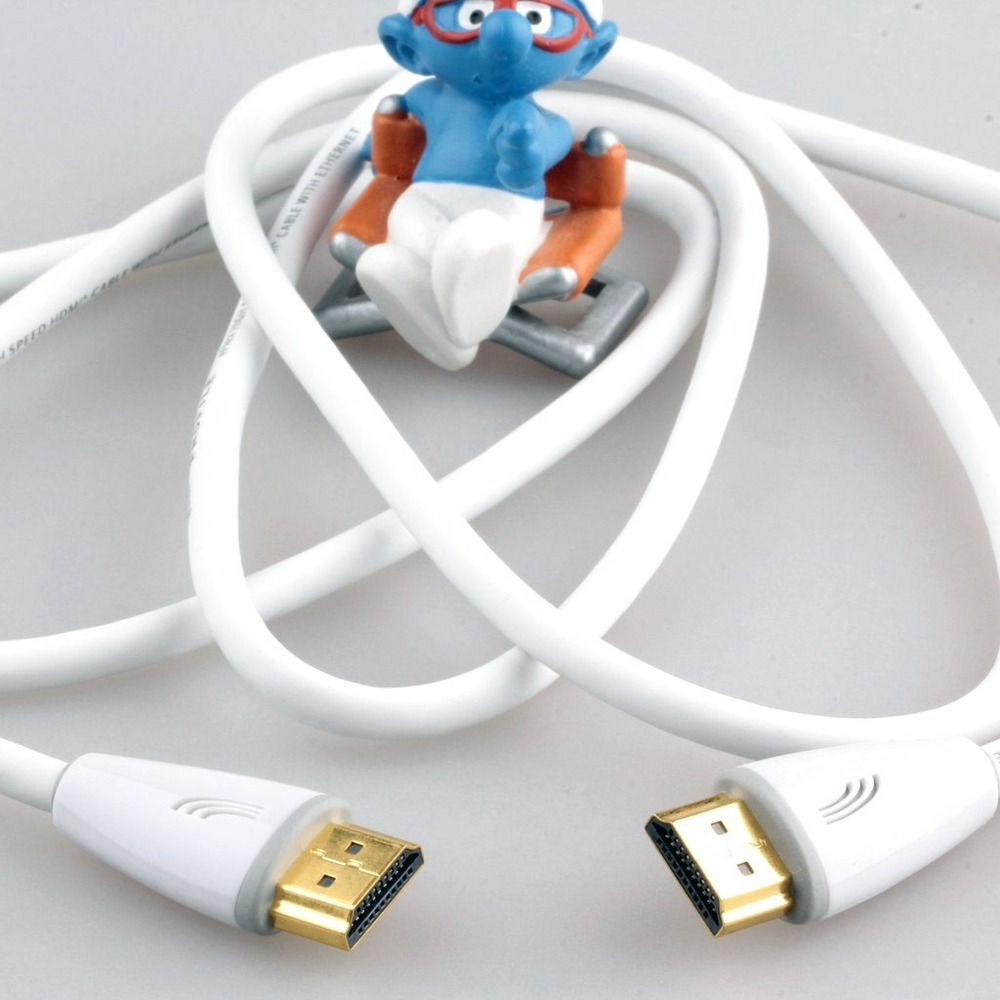 Кабель HDMI - HDMI QED (QE5016) Profile eFlex HDMI White 2.0m