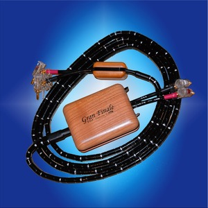 Акустический кабель Single-Wire Banana - Banana HMS Elektronik Gran Finale MKII WBT0610 SingleWire 2.5m
