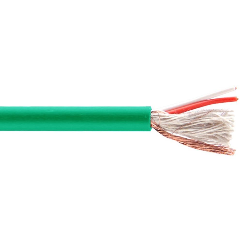 Кабель микрофонный в нарезку Belsis BW7821 Green